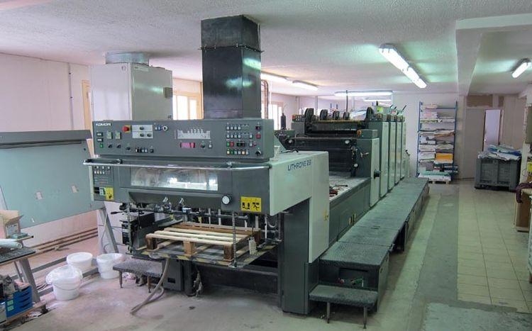 Komori L-428+L 52 x 72 cm