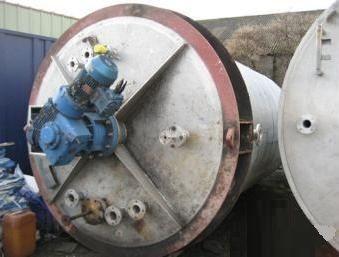 Matthews Engineering 17,000 Litre Stainless Steel Mixing Vessel