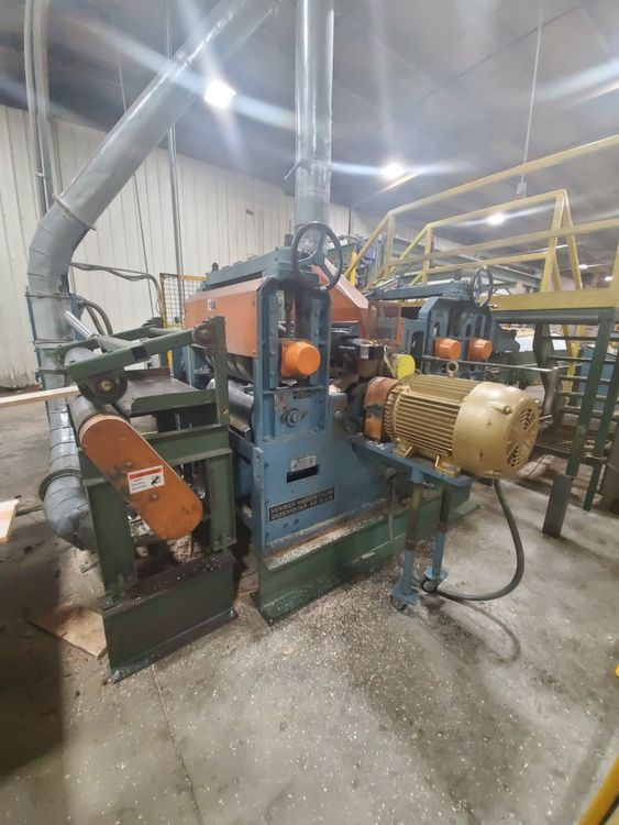 Newman S-382S-1-M, Planer High speed top and bottom planer