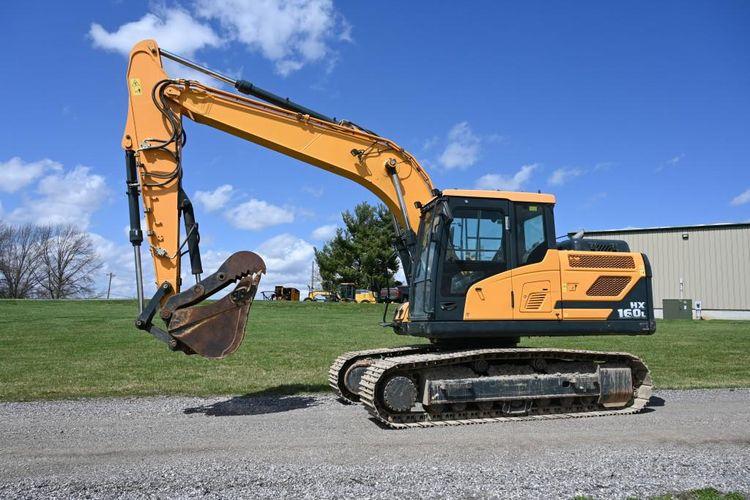 Hyundai HX160L Tracked Excavator