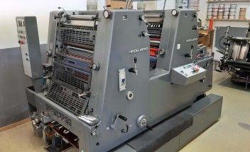 Heidelberg GTO 52-2+ KOMPAC 360x520 mm