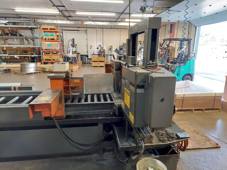HE&M DC14 HA Band Saw CNC Control