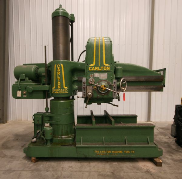 Carlton 5′ x 15″ Radial Drill Variable