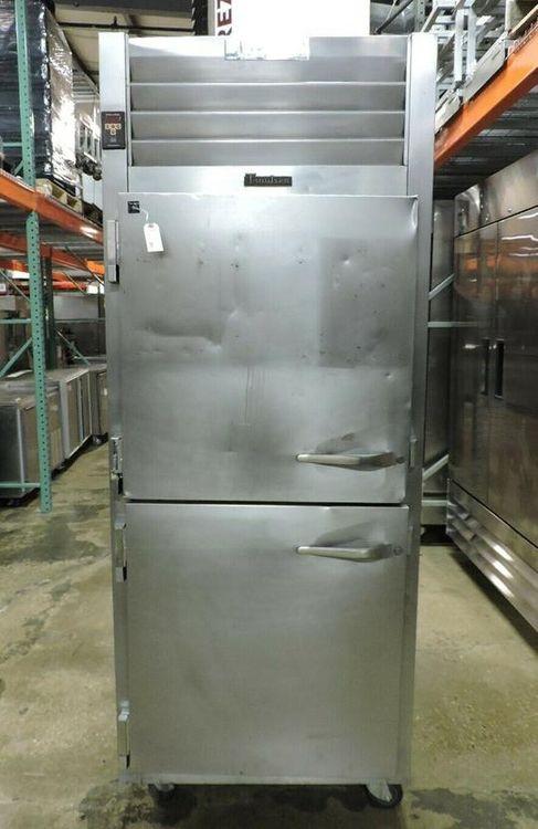 Traulsen AHT132WUT Double Door Tray Slide Commercial Refrigerator