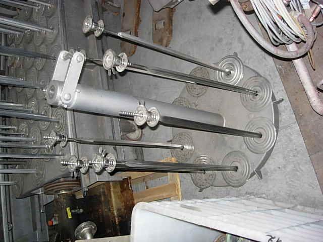 2 Loris Bellini RBNV 840/975 Vertical Dyeing Autoclav