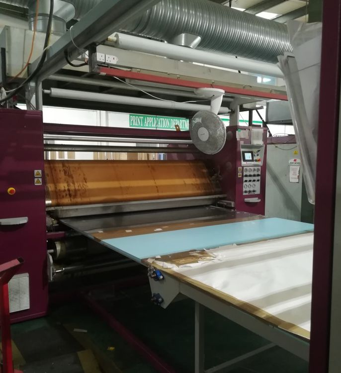 2 Monti Speedsport 96  Heated calendar machine for printing 200cm