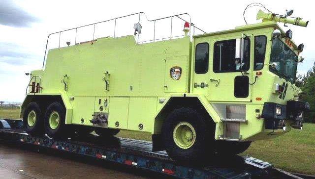 Oshkosh T3000 ARFF, Truck