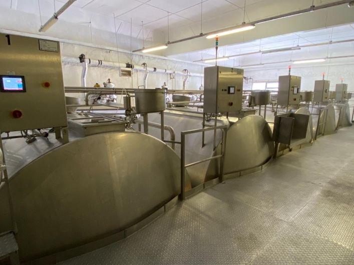 Tetra Pak OST cheese vats