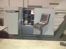 Gildemeister Siemens Max. 6000 rpm CTX 320 linear 3 CNC Turning Lathe
