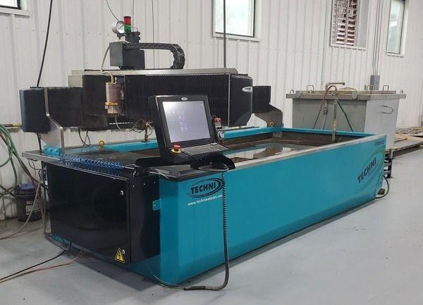 Techni Techjet TJ3000-X3 AM2000 Controller & Servo Control System