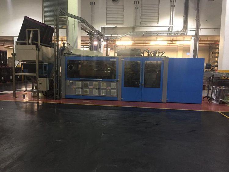 SIPA SFL 6 LINEAR REHEAT STRETCH BLOW MOULDING MACHINES