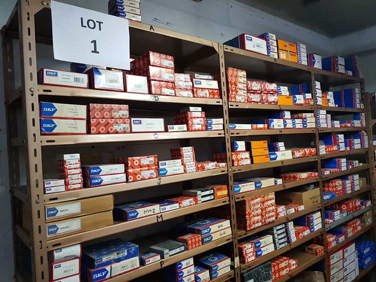 20.000+ BEARINGS SURPLUS AVAILABLE FOR CLEARANCE