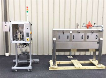Tripack LSA-160 Shrink Sleever with Steam Tunnel