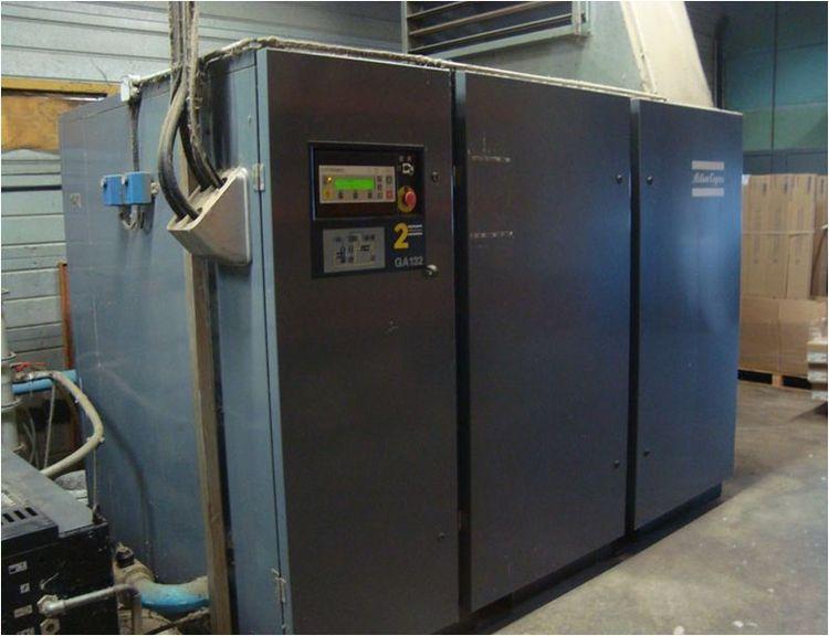 2 Atlas Copco GA132AT, Compressor 1320 m3