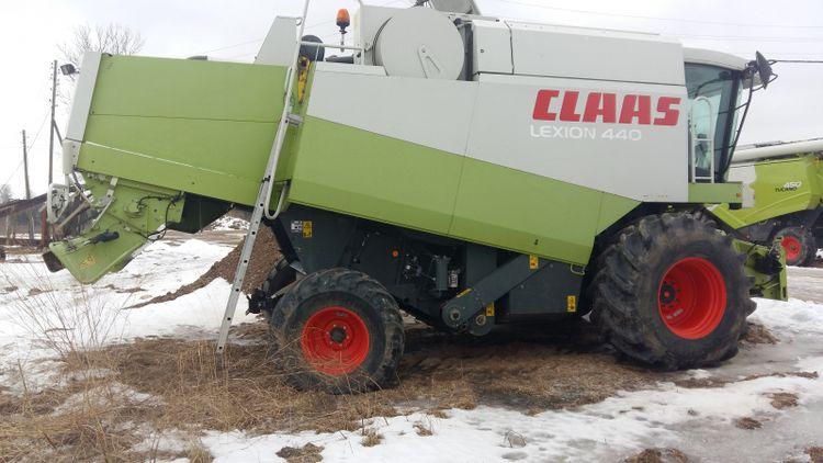 Claas Harvesting