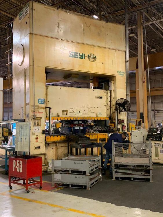 Seyi SEYI Press SS Press 800 Ton