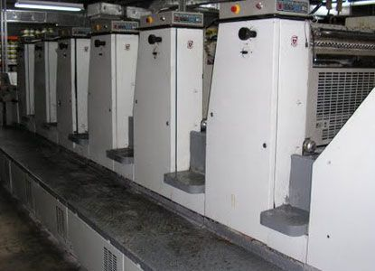Adast 866P, 6 Colors Offset Machine