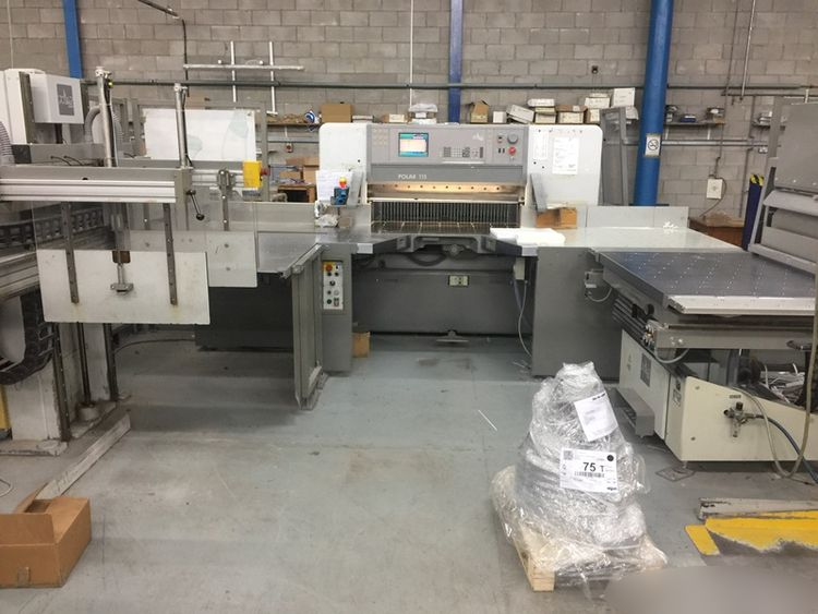 Polar 115E, Fully Programmatic Flowline Guillotine System