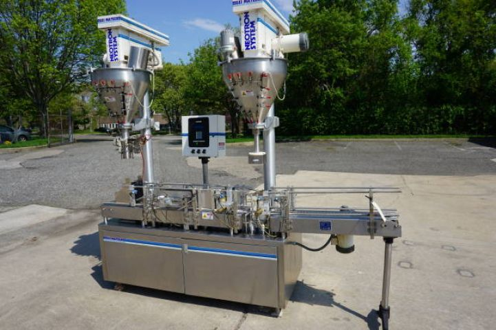 Gei 4230 DUAL AUGER HIGH SPEED POWDER FILLER