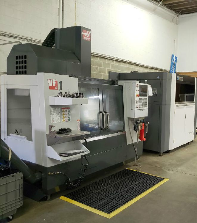 Haas VF-1 CNC VERTICAL MACHINING CENTER NEW 3 Axis