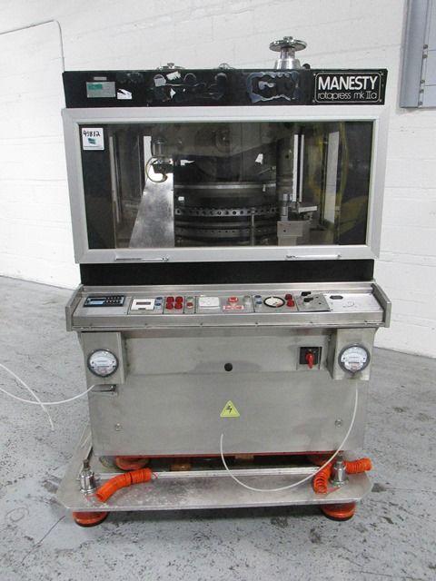 Manesty MKIIA 61-station Rotary tablet press
