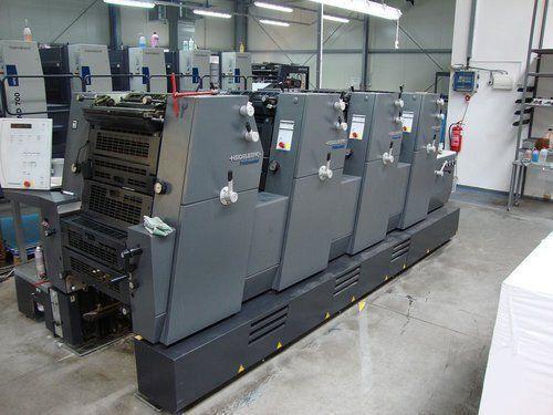 Heidelberg Printmaster GTO 52-4 360x520 mm