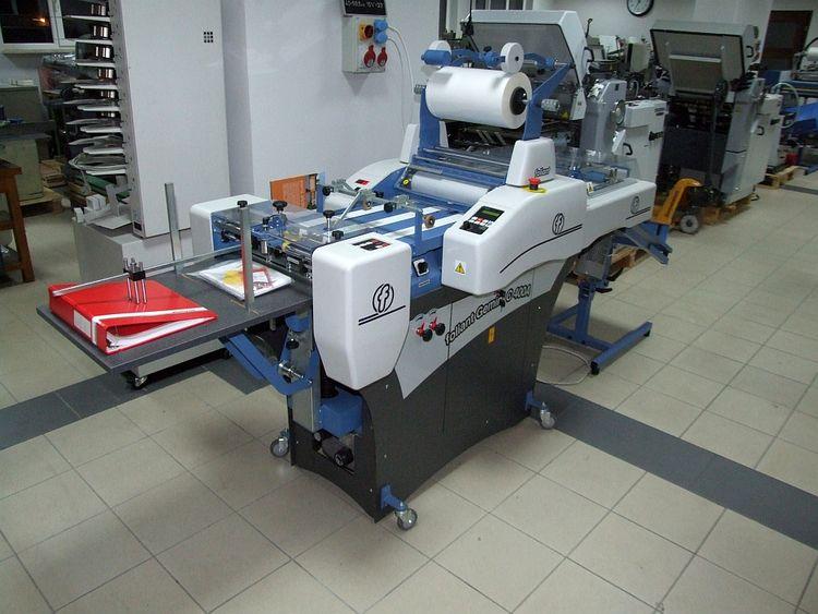 Foliant Gemini Automatic laminator