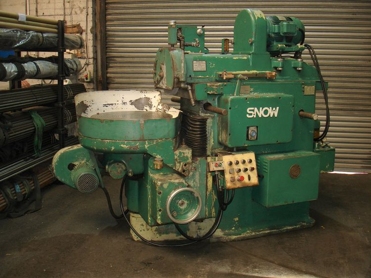 Snow HR 25 ROTARY TABLE SURFACE GRINDER