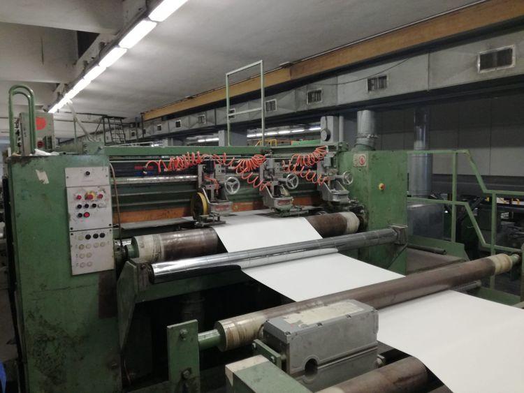 Jagenberg 1700 mm Synchro AS 116 sheeter still installed, super deal now!