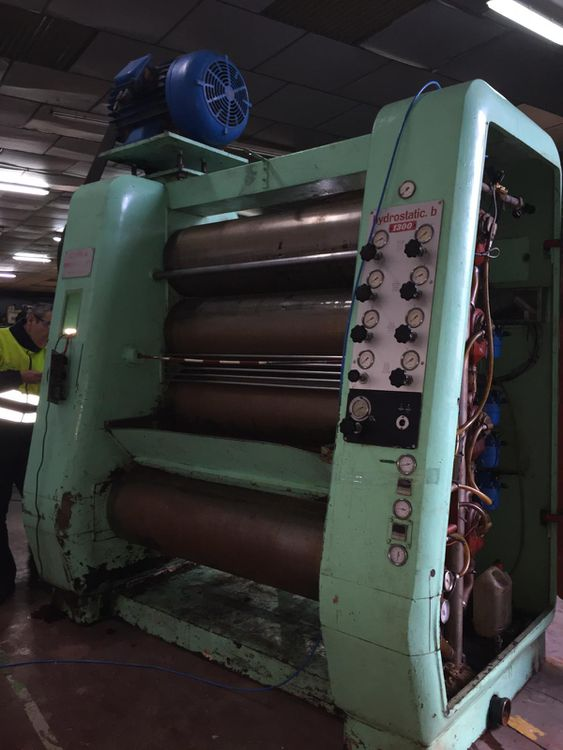 Carle & Montanari HYDROSTATIC B 1300 2 X 5 ROLL CHOCOLATE REFINERS