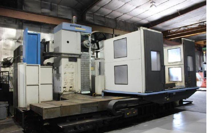 "Doosan DB 130 CX CNC Horizontal Boring Mill 5.12"" 2500 RPM"