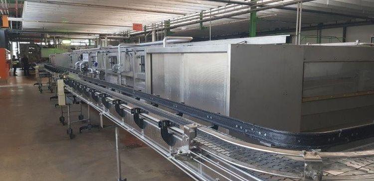 SEN P48/7 Pasteurizer / Cooling tunnel