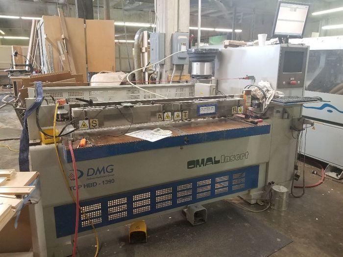 Omal 1390, Dowel and Glue Insertion Machine