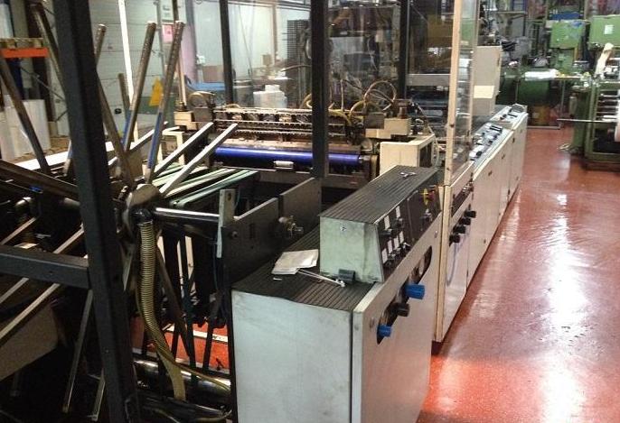 Lemo Intermat 850 Bag making machine