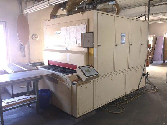 Heesemann LSM 8, 8 grinding machine