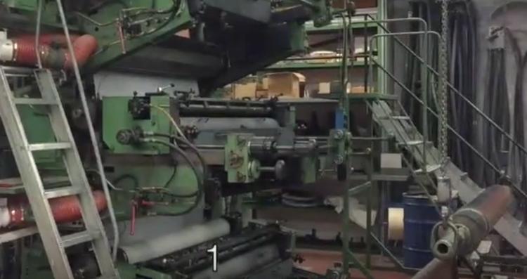 W&H ( Windmöller & Hölscher ) Olympia 900 FLEXO printing Machine 6 +1 col. permanently modernized and serviced 1620 mm web