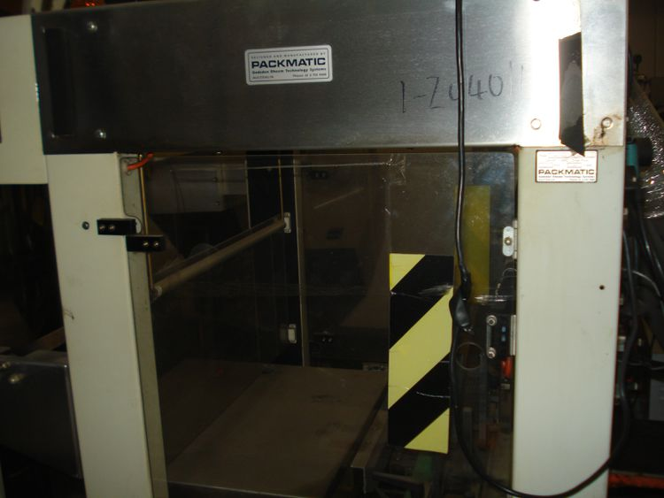 Packmatic 50ASW25, Heat Shrink Tunnel and Collator 1900 mm x 1000 mm x 1550 mm