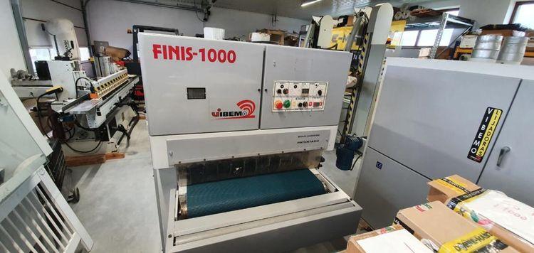 Vibemo Finis 1000 2R, Surface brush machine