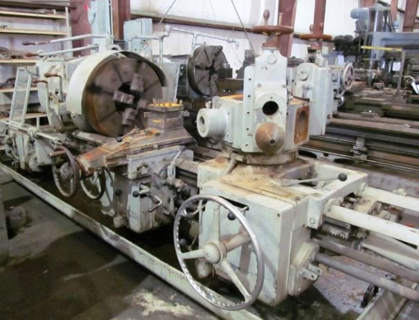 Warner & Swasey Engine Lever Head Turret Lathe 2100 rpm 4A