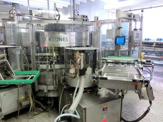 Krones Topmodul Labelling Machine