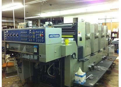 Akiyama 432, 4 Colors Ofsfet Machine