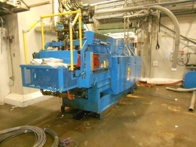 Uniloy 350R2 4 head Reciprocating Screw Blow Molding Machine