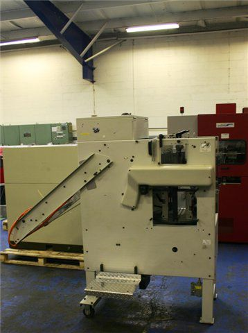 Rima RS10, Compensating Book Stacker with Delivery Table