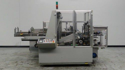 Mab B88 Automatic Case Erector Packer And Sealer