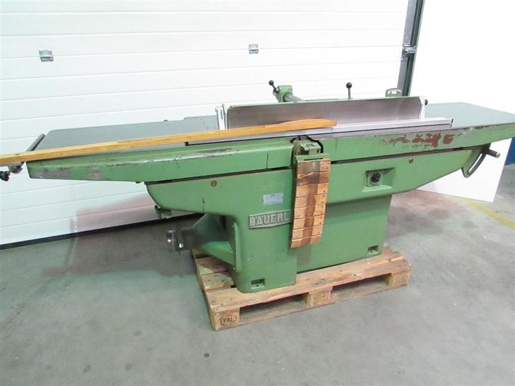 Bauerle AS51, Surface planer