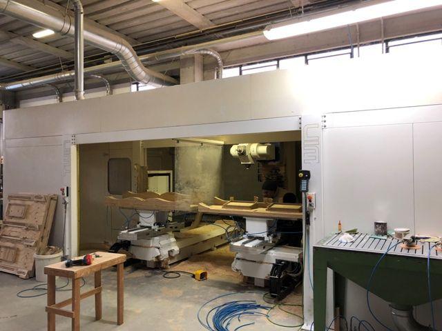 Bacci TWIN, CNC WORKING CENTER 5