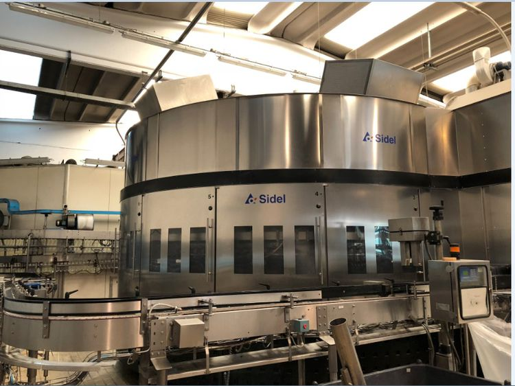 Sidel SF SELECT BV 140.15 PET bottles