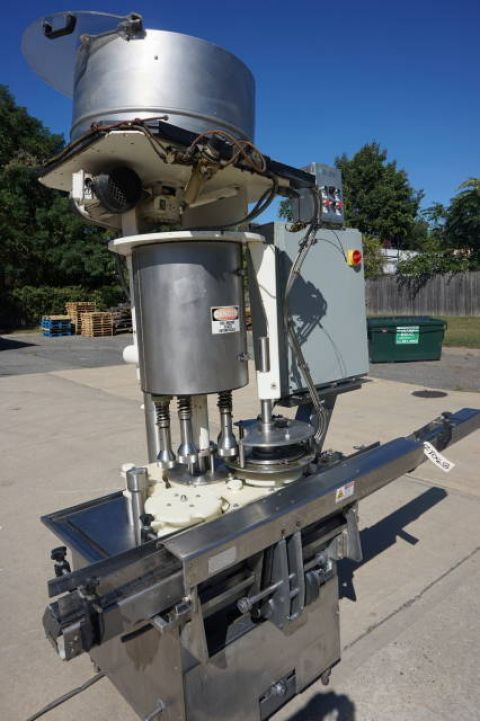 Zalkin 5 Head AUTOMATIC ROTARY PLUGGER/CAPPER