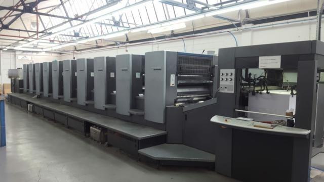 Heidelberg Speedmaster SM 102-10P 720mm x 1020 mm 10