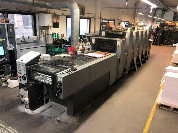 Heidelberg SM52-5LX 370 x 520 mm